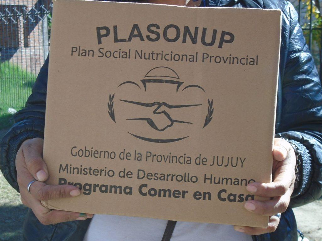 A partir del jueves 27 de julio continuará la entrega de Unidades Alimentarias en localidades de Yungas y Palpalá
